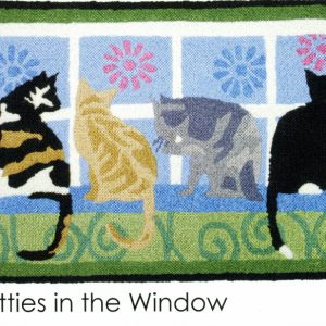 kitties in the window