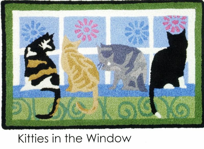 kitties in the window