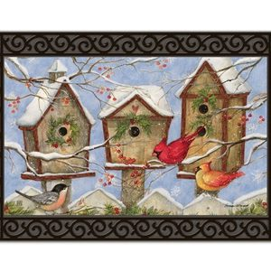 christmas birdhouses