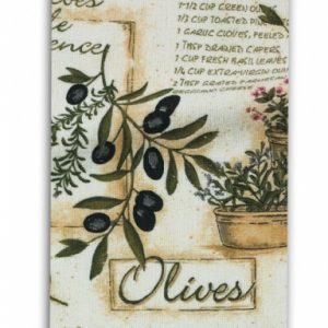 herbs & olives
