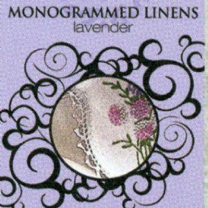 monogrammed linen
