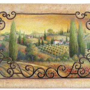 vision of tuscany wall