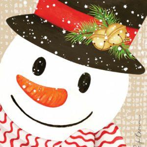 crafty snowman